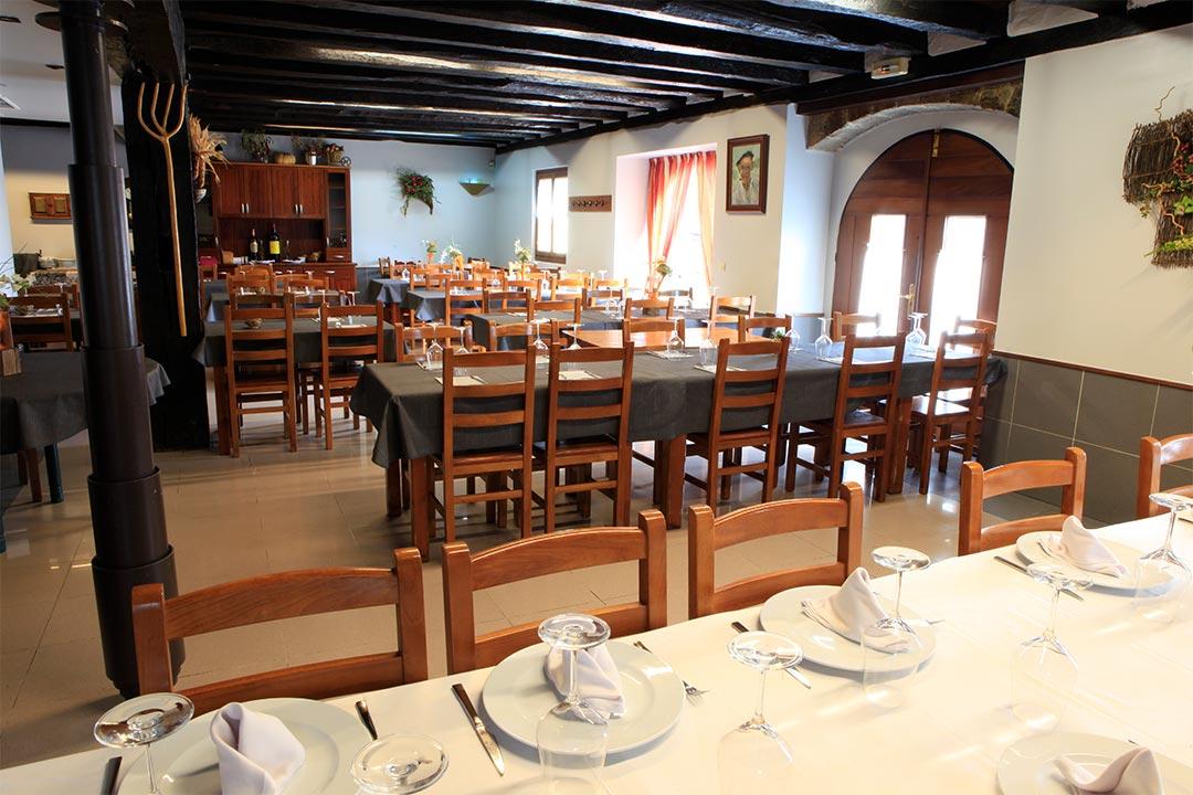Vista interior del Restaurante Uztartza